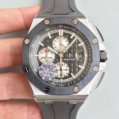 JF厂 爱彼 AP ROYAL OAK OFFSHORE 皇家橡树离岸型系列 Black DLC for Marcus London洗手防水表