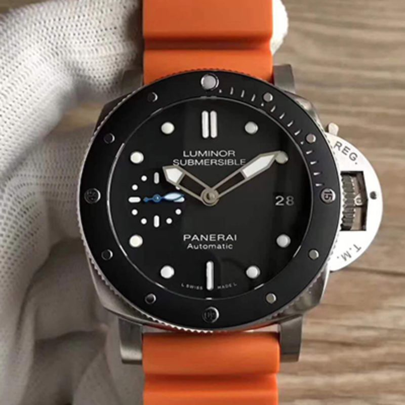 XF厂 沛纳海 LUMINOR SUBMERSIBLE 1950 AMAGNETIC 3 DAYS AUTOMATIC TITANIO PAM01389 PAM684A洗手防水表
