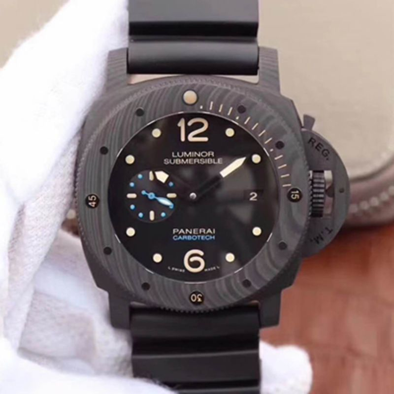 VS厂 沛纳海 Panerai LUMINOR SUBMERSIBLE 1950 CARBOTECH™ 3 DAYS AUTOMATIC PAM00616 Pam616洗手防水表