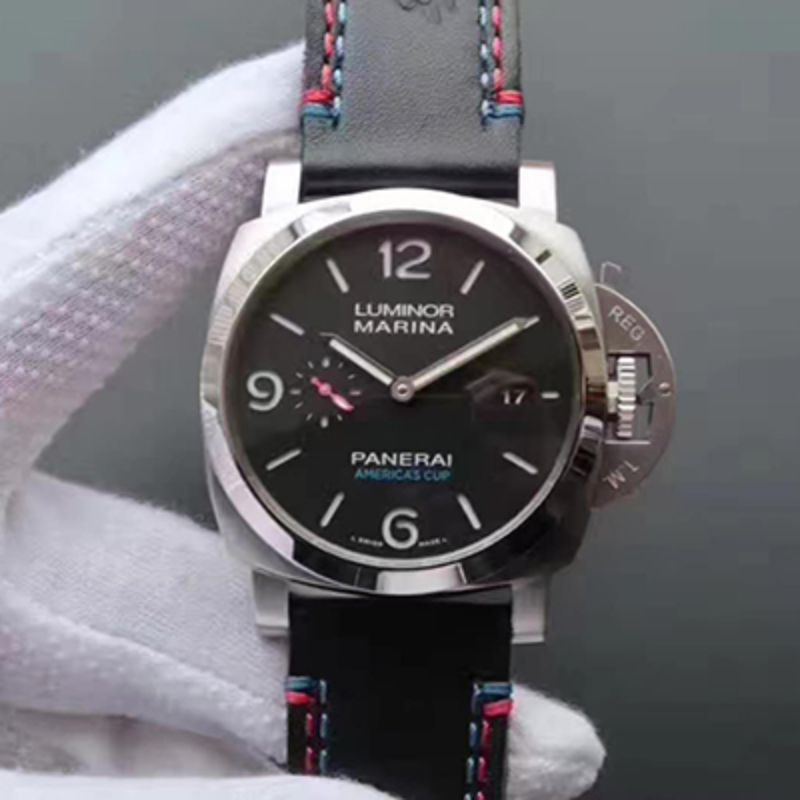 XF 厂 沛纳海 LUMINOR MARINA 1950 AMERICA'S CUP 3 DAYS AUTOMATIC ACCIAIO PAM00727 Pam727洗手防水表
